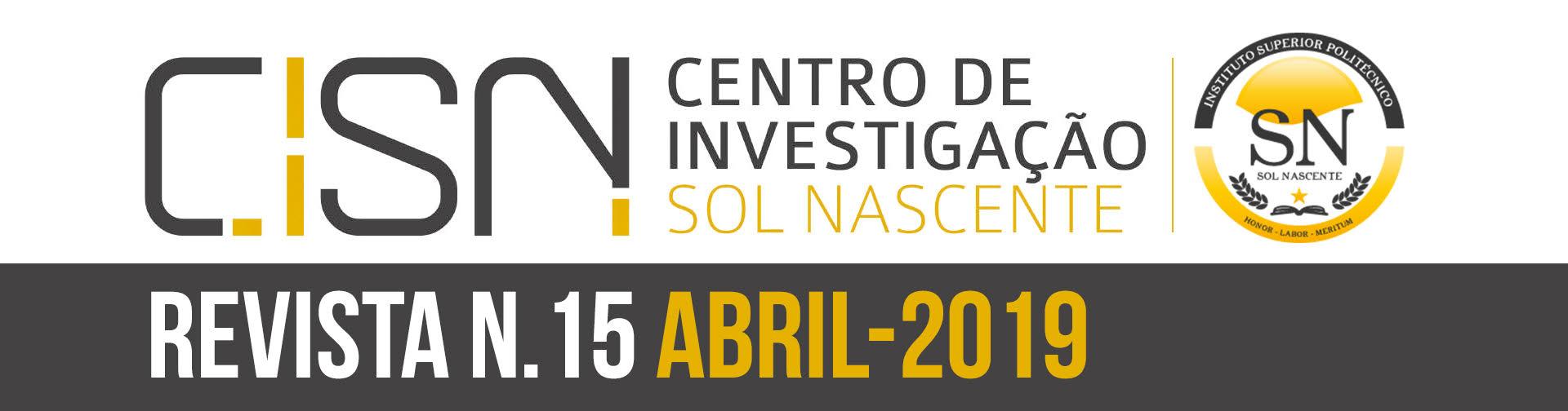 Revista Sol Nascente N. 15