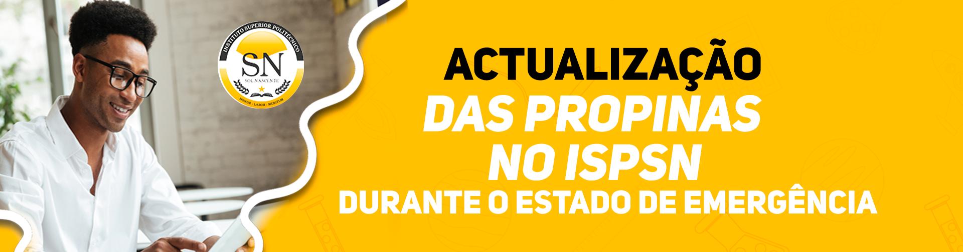 Actualizaçao Valor Propinas