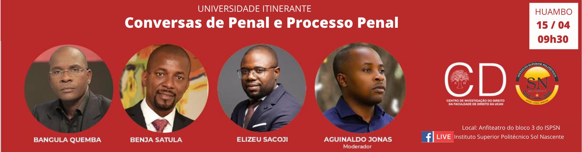 CONVERSAS DE PENAL E PROCESSO PENAL