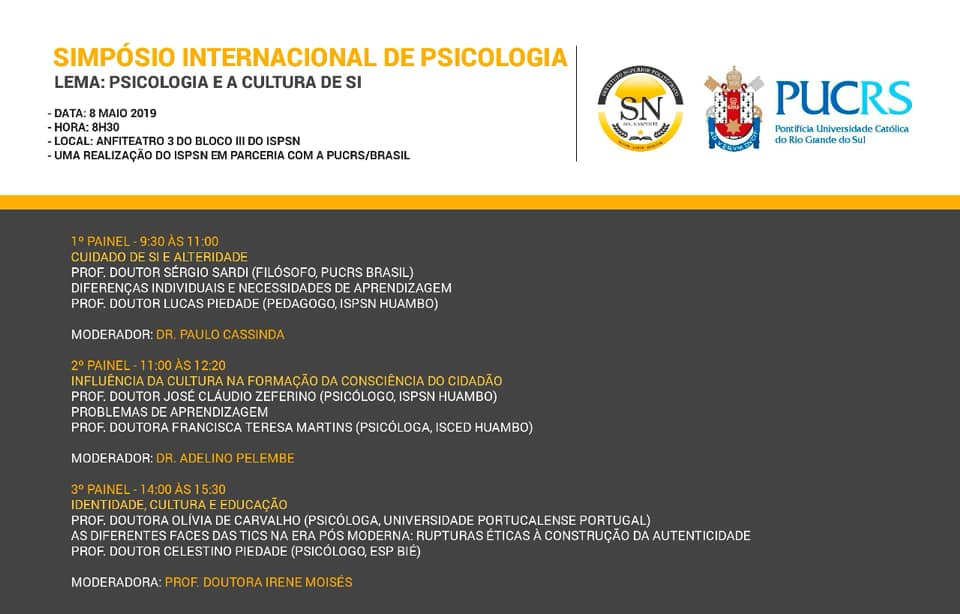 Simpósio Internacional de Psicologia 2019